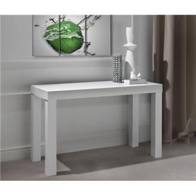 Console murale transformable en table blanc ORLANE