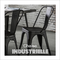 Chaise industrielle