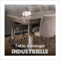 Table à manger industrielle