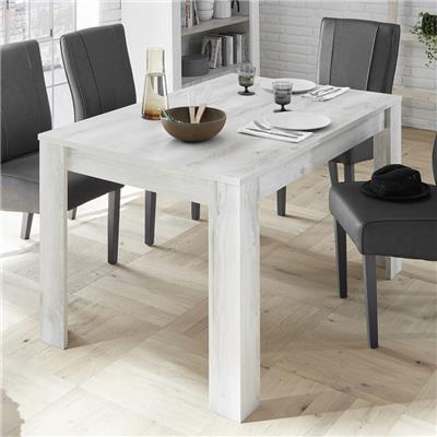 Table 180 cm contemporaine couleur pin MABEL 3