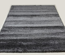Tapis de salon shaggy anthracite SPENCER 8