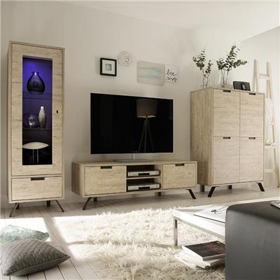 Ensemble meuble TV moderne PLUME